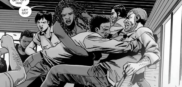File:Rick, Vincent, Michonne, Dante, Maggie & Connie 148.png