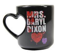 Mrs. Daryl Dixon Heart Mug