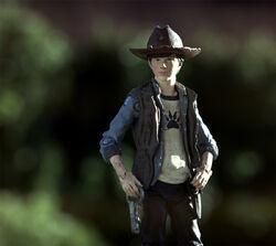 Walking Dead action figures TV series 4 Carl 03