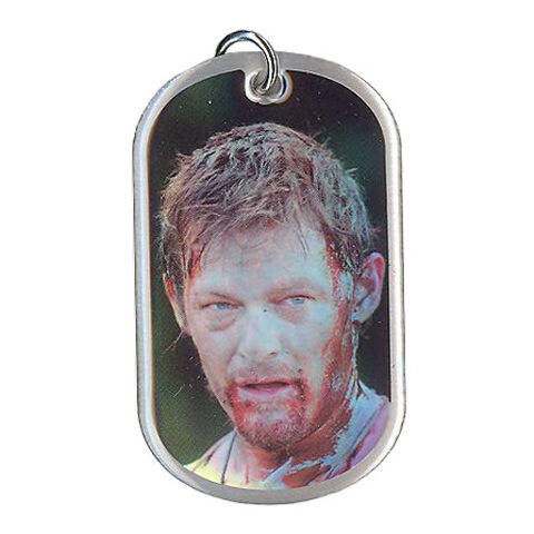 File:The Walking Dead - Dog Tag (Season 2) - DARYL DIXON 5 (Foil Version).jpg