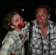 Aidan Sussman and Gregory Nicotero