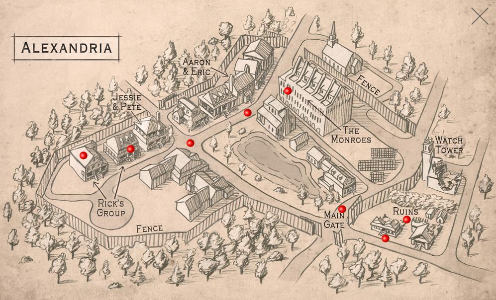 Image  Alexandria Mappng  Walking Dead Wiki  FANDOM powered by