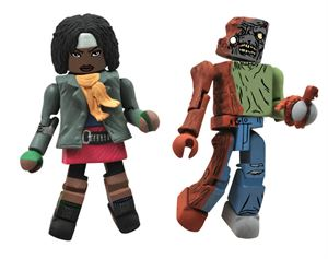 File:Walking Dead Minimates Series 2 Michonne & One-Eyed Zombie 2-pk.jpg