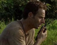 Rick on Walkie Talkie