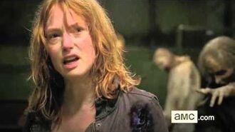 The Walking Dead 6x13 Carol Kills Paula