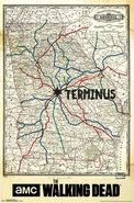 Walking Dead - Terminus Map