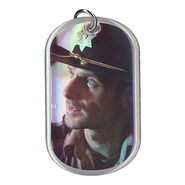 The Walking Dead - Dog Tag (Season 2) - RICK GRIMES 12 (Foil Version)