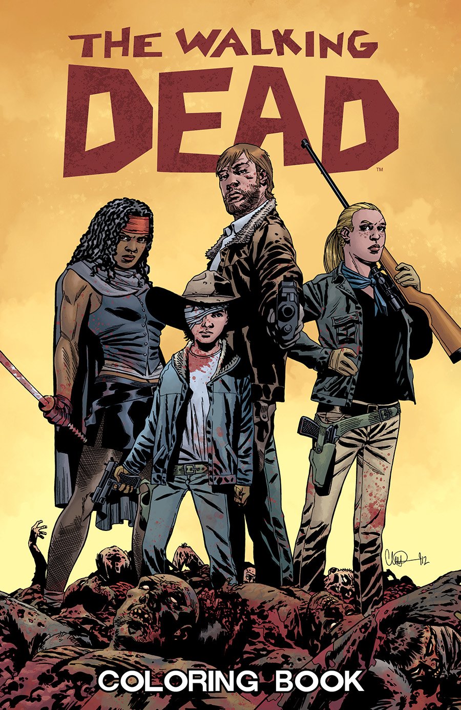 The coloring book full album - File Twd Coloring Book Cover Png