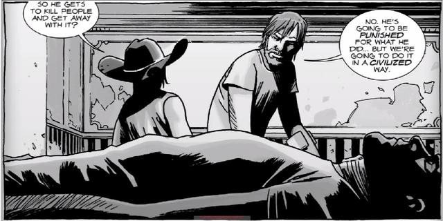 File:Carl, Rick, Negan.PNG