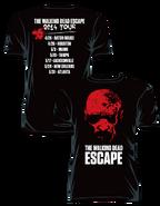 """THE WALKING DEAD """"ESCAPE TOUR"""" T-SHIRT"""