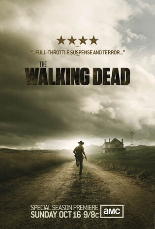 The walking dead poster 2