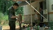 The Governor, Caesar, Lilly and Meghan 4x07