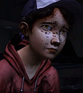 Clementine just killed a walker