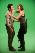 Laurencohan stevenyeun behind the scenes