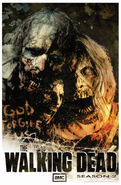 SDCC 2011- The Walking Dead Season 2 Comic-Con Tim Bradstreet Poster