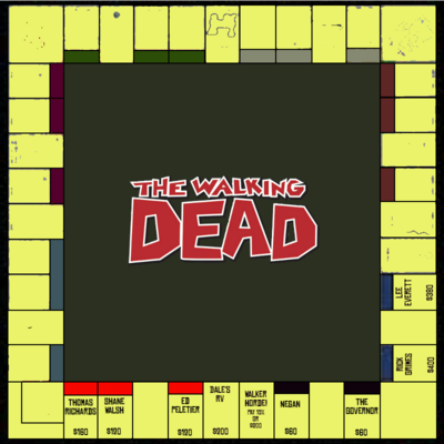 The Walking Dead Monopoly (2)