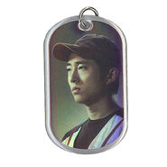 The Walking Dead - Dog Tag (Season 2) - GLENN RHEE 8 (Foil Version)