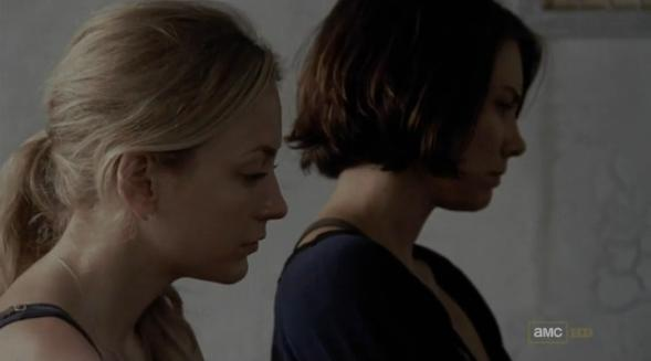 File:Beth and Maggie watching Hershel.JPG