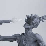 The Walking Dead Comic- Rick Grimes Resin Statue (Unpainted Artist's Proof) 3