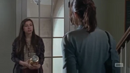 Enid and Maggie in pantry 6x15