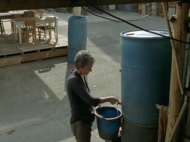 File:Carol water and drum.jpg