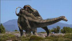 WWD1x2 DiplodocusAttackedByAllosaurus