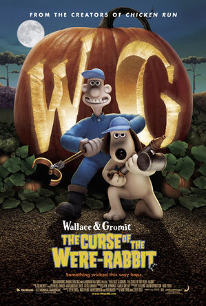 Wallace gromit were rabbit poster