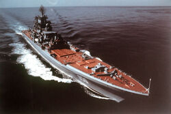 Soviet Battlecruiser Kirov