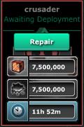 Crusader repair