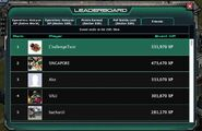 Old Leaderboard - XP (Entire World)