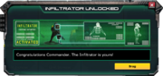Infiltrator-UnlockMessage