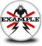 District Example Badge