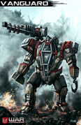 Wc vanguard mech by mr donkeygoat-d6ivel2