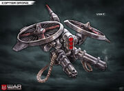 Copter drone by pixel saurus-d5yrqps