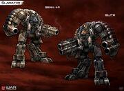 Gladiator mech by pixel saurus-d64p5sf