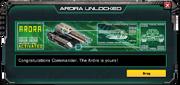 Ardra-UnlockMessage