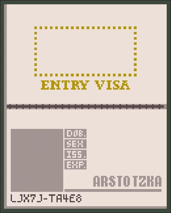 Arstotzka Passport From Paper S Please Warehouse 13