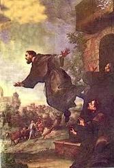 Flying saint