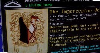 Imperceptor vest