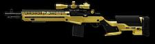 M14 Crazy Horse Gold Render
