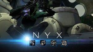 Warframe Nyx
