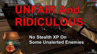 Stealth - The Warframe Nerf Nobody Talks About