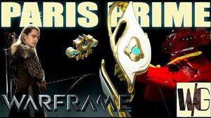 Warframe Builds - PARIS PRIME Become Legolas (1 forma) Update 16