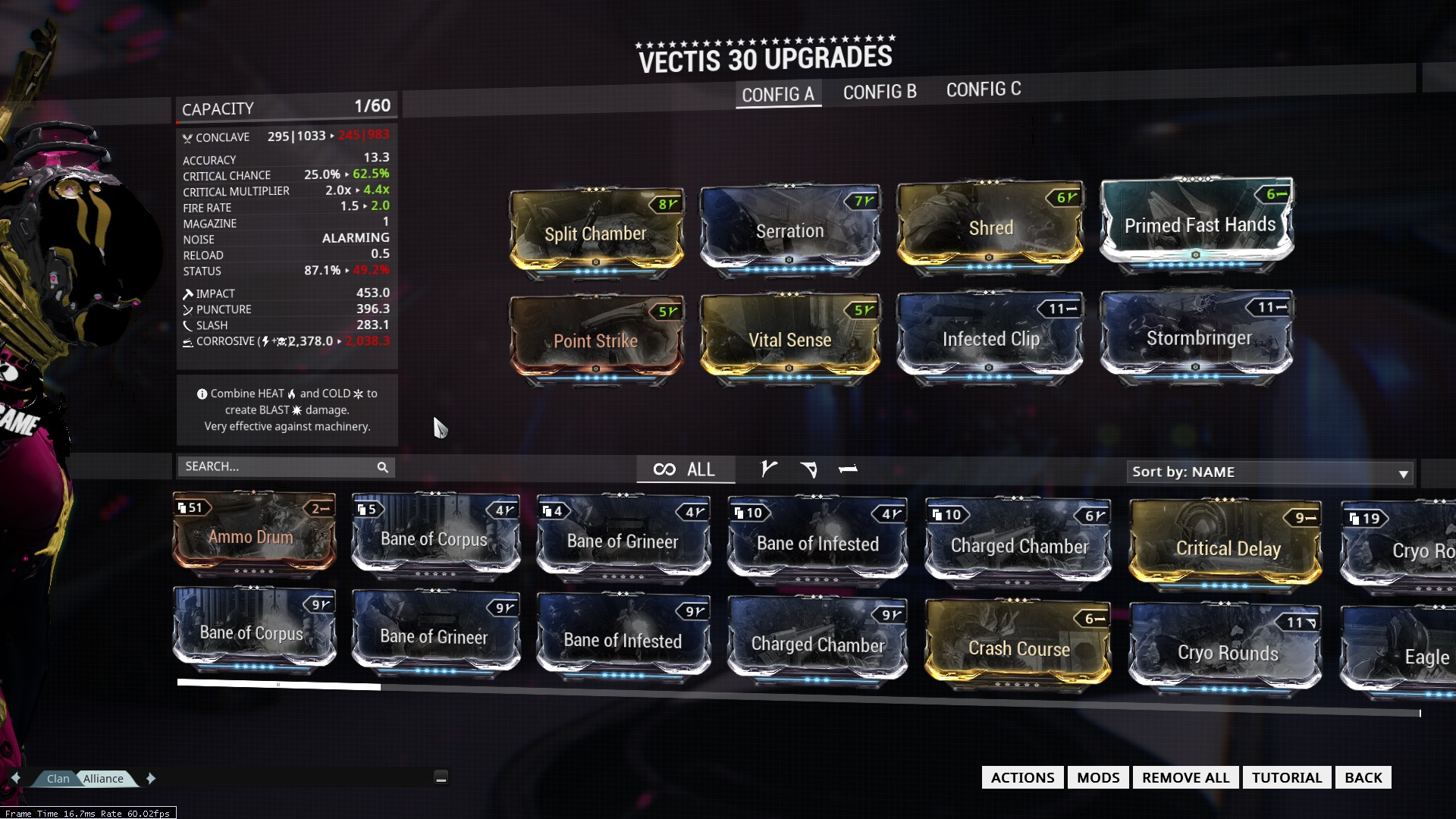 how to build oracle in warframe