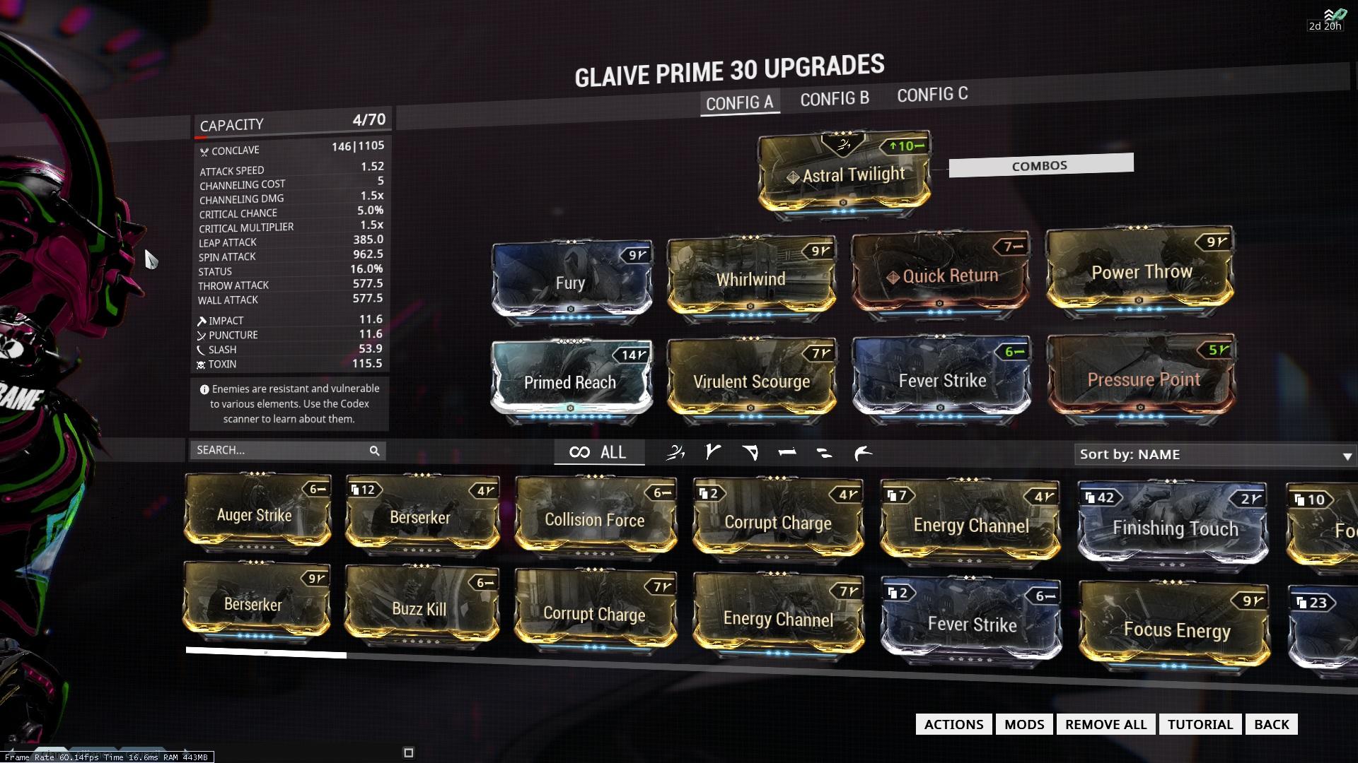 warframe how to get aura mods 2017