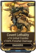 Covert Lethality