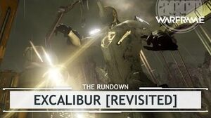 Warframe Excalibur, From Poster Boy to Centerfold therundown