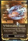 Adrenalineboost