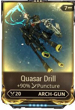 warframe quasar drill