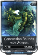 Concussion Rounds